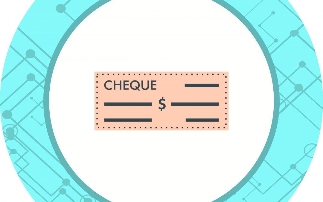 chèque sans provision encaissé