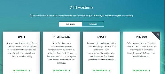formation xtb