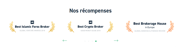 xtb recompense support
