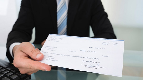 banque cheque annulation vol perte
